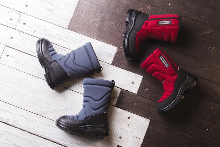 Nordman создает невероятные модели детской обуви